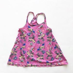 Old Navy floral racer back swing topVGUC XS(5)